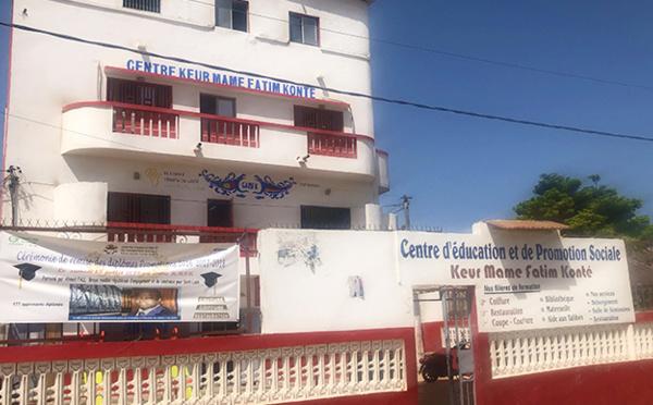 Centre Keur Mame Fatim Konté : cérémonie de remise des diplômes, ce 13 juillet 2019
