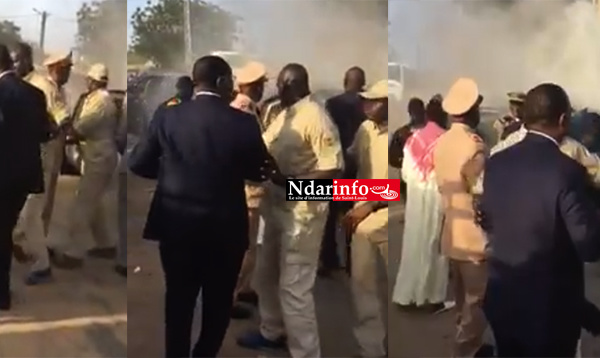 Limousine présidentielle en feu : l'exfiltration de Macky SALL ( vidéo)