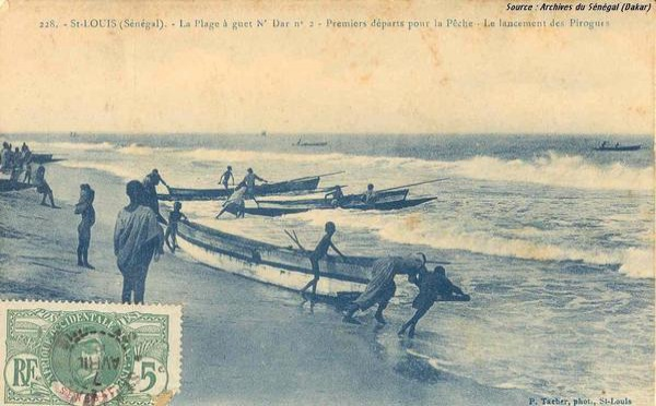 [Photo-Archive]- La plage de Guet Ndar