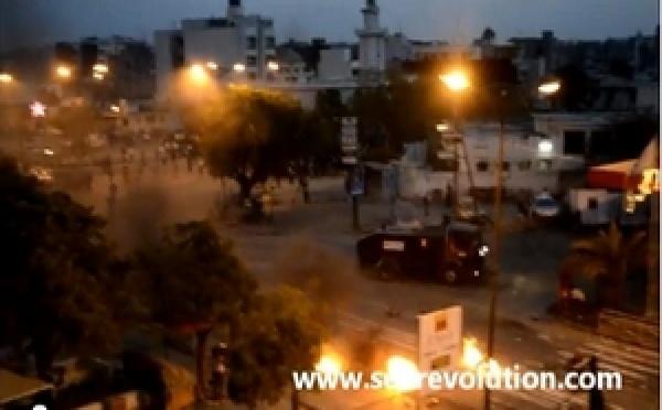 Dernière minute :Le camion d'eau chaude des policiers écrase un jeune garçon