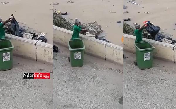 Rejets d'ordures dans le fleuve : À St-Louis, des individus arrêtés et déférés au parquet