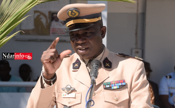 Sécurisation de Saint-Louis : la Zone militaire réaffirme sa disponibilité à la Police (vidéo)