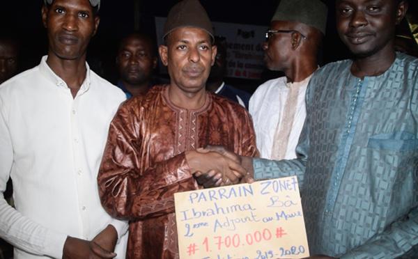 FINALE DE LA ZONE 7 : le parrain, Ibrahima BA, invite la jeunesse à l'Union (vidéo)