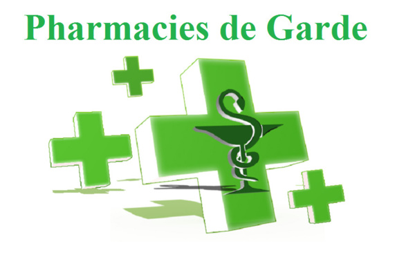 Les Pharmacies de Garde de Saint-Louis ( du 28/12/2019 au 29/02/2020)