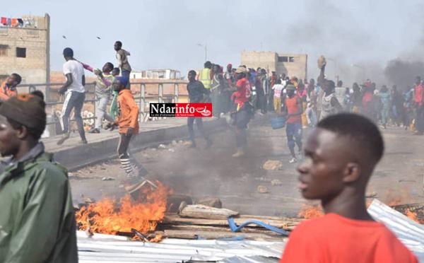 DIRECT - Explosion de colère sur Langue de Barbarie ... (photos)
