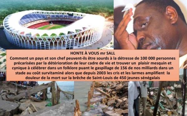 """Cheikh Bamba Dieye à Macky sur la pose de la première pierre du stade Olympique : """"Honte à vous !"""""""