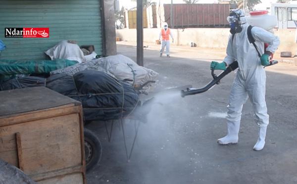COVID-19 : lancement d'une opération de désinfection de la ville