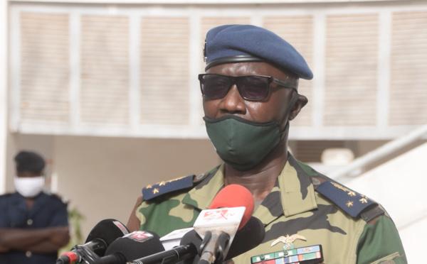 Riposte contre Covid-19 : le Cemga Birame DIOP galvanise les troupes (vidéo)