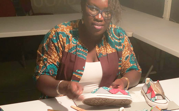 Baya Bathily, Baya Design : Cordonnière et fière de l'être