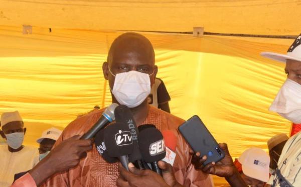 """Mansour Faye : """"La transparence a prévalu dans le choix des bénéficiaires de l'aide alimentaire''"""