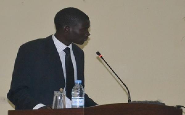 ''Nous ne souhaitons pas que l'Université soit un champ de bataille'', déclare Ndarao Faye, président de la Coordination des étudiant de l'UGB.