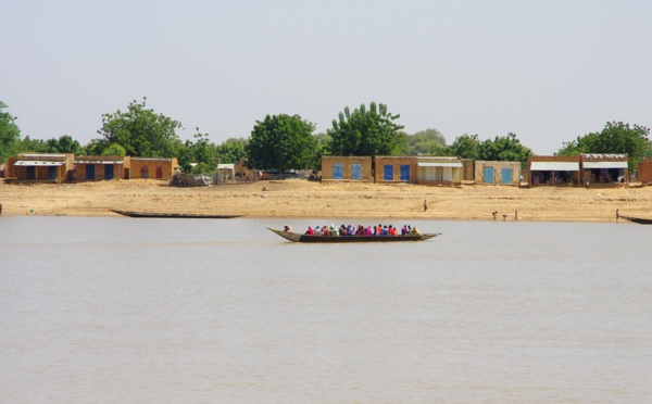 Le fleuve Sénégal franchit sa cote d'alerte à Matam