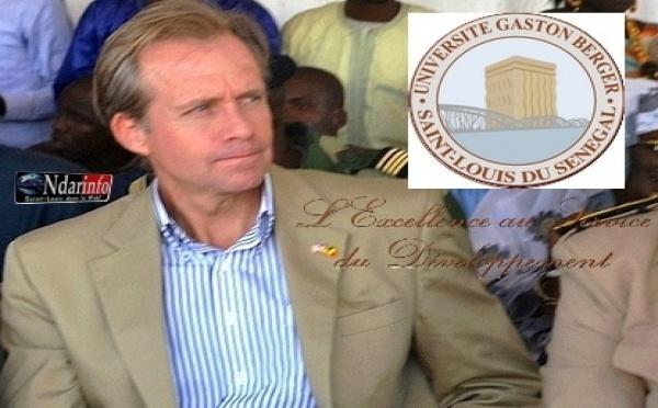 Saint-Louis : Lewis Lukens, l'Ambassadeur des USA, en visite à l'UGB, jeudi.