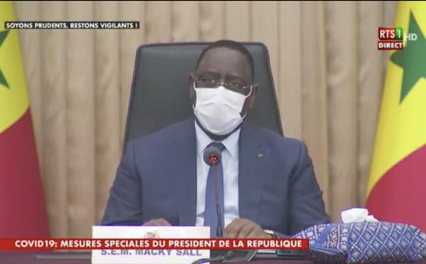 L'état d'urgence assorti d'un couvre-feu décrété à Dakar et Thiès