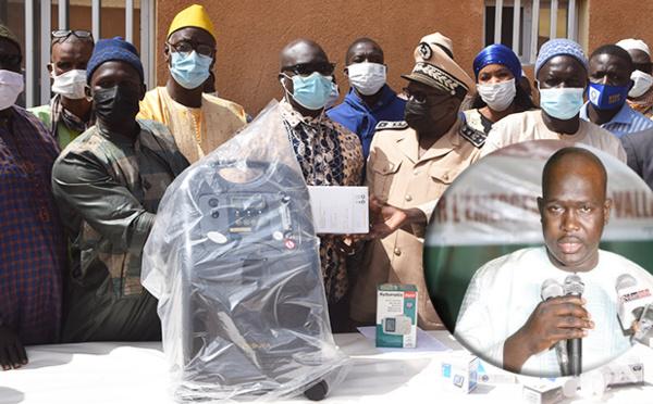 Don d'équipements médicaux de 30 millions de FCFA : Faly SECK relève le plateau technique des structures sanitaires du WALO (vidéo)