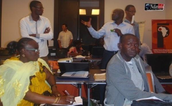 Dakar : Clôture d'un atelier sur les Médias sociaux et la Citoyenne.