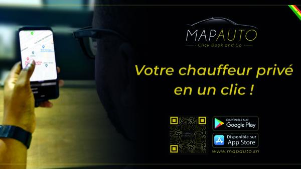 MAPAUTO : nouvelle agence de location de voitures avec chauffeur (VTC) au Sénégal