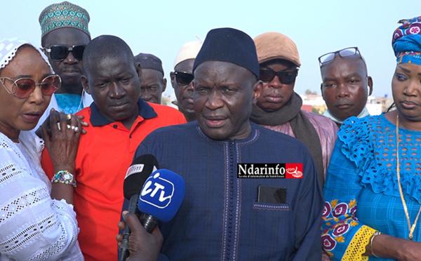 """Dragage de la brèche : """"le retard est indépendant de la volonté du président Macky SALL … """", selon Cheikh Samba SENE"""