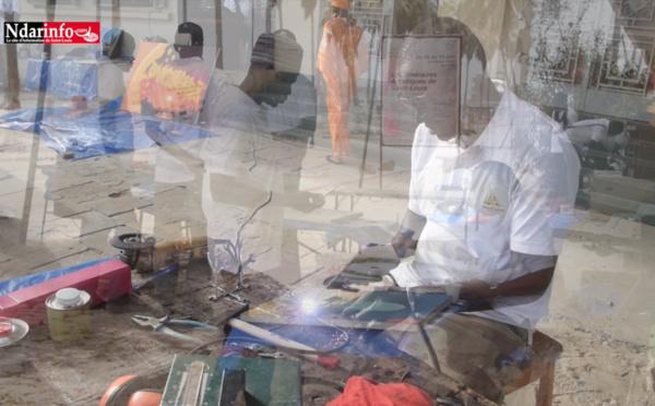 7e édition des Itinéraires Artistiques de Saint-Louis : échanges de pratiques et de procédés (vidéo)