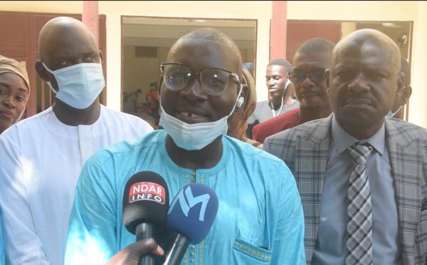 """Saint-Louis : Les enseignants de l'APR promettent de """"sillonner les 33 quartiers pour sensibiliser sur les réalisations de Mansour FAYE"""" (vidéo)"""