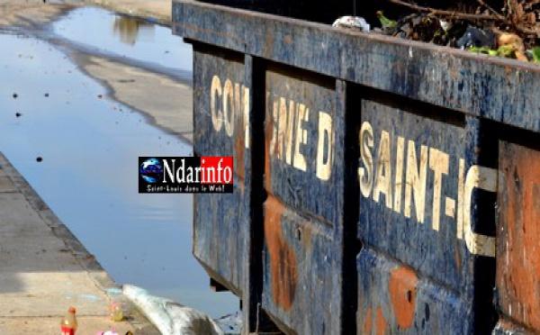 Furie des populations de l'Hydrobase contre l'installation d'un dépotoir d'ordures.