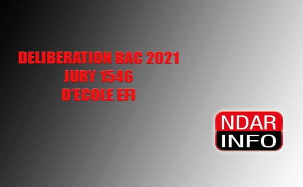 BAC 2021 : La proclamation des résultats à l'école EFI (vidéo)