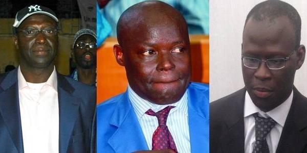 Cafouillages et candidatures multiples dans l'APR Saint-Louis: Bamba Dièye, Braya et Kader Ndiaye se frottent les mains.