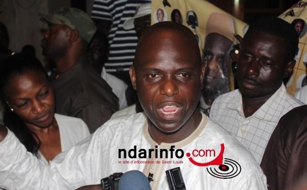 VIDÉO - Mansour FAYE crie sa victoire et réclame les clés de la mairie.