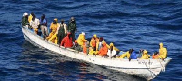Saint-Louis : Sept pirogues entre les mains des garde-côtes mauritaniennes.