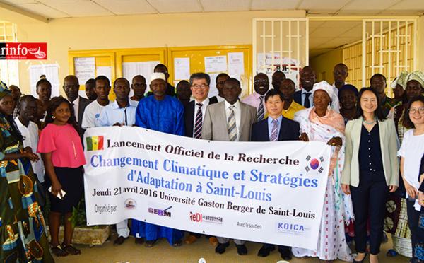 Changement climatique : lancement d'un projet inclusif sur les stratégies d'adaptation à Saint-Louis.