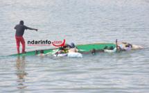 Naufrage : 7 pêcheurs s'enlisent dans la brèche.