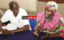 Mme Fatou Camara SANGARE, la coordonnatrice de la direction de l'innovation scientifique, de l'insertion, de la prospective et des services à la communauté