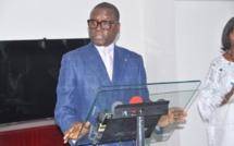 Pierre Goudiaby Atepa officialise sa candidature à l'élection présidentielle de 2019