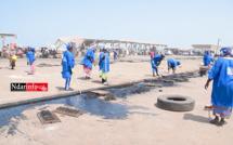 ACTION CITOYENNE : l'UNAPAS/St-Louis nettoie le quai de pêche de Guet-Ndar (vidéo)
