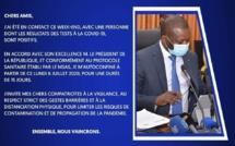 Covid-19 : Le ministre Alioune Sarr mis en isolement