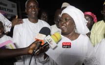 Locales à GANDON : Investie par la mouvance présidentielle, Khoudia MBAYE charge ses adversaires  – vidéo