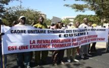 ÉDUCATION: le mot d'ordre de grève du CUSEMS largement respecté à Saint-Louis (audio)