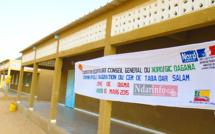 ÉDUCATION - COOPÉRATION DÉCENTRALISÉE: le CEM de TABA DAR SALAM inauguré.